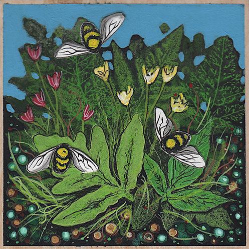 Woodland Summer 4 - (Bees)