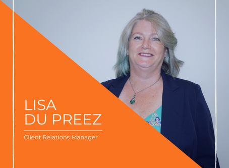 Meet Lisa our Client relations manager