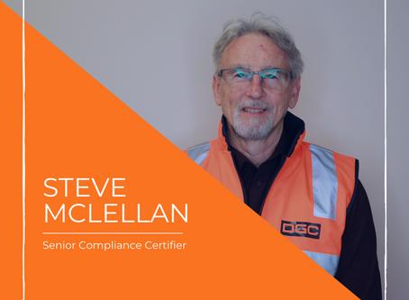 Certified Handler with Steve McLellan