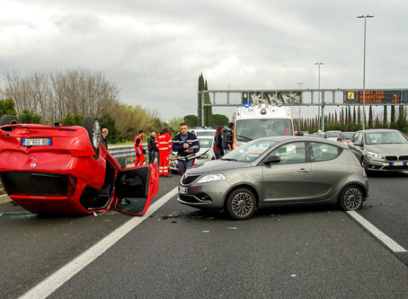 What to do in a vehicle accident?