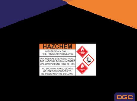 Hazchem Signage