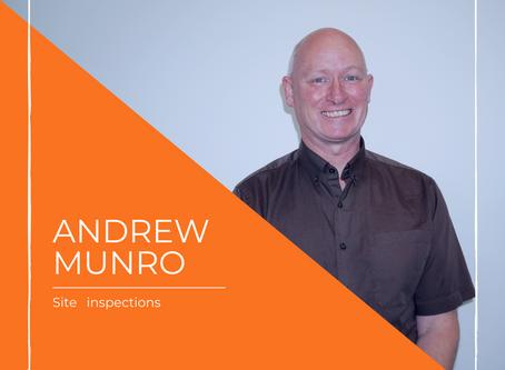 Meet Andrew our team member in Dunedin