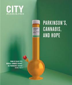 Rx Cannabis Cover, 2018