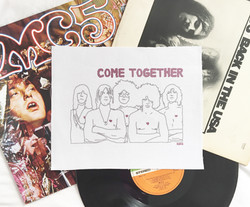 Come Together patch, 2016
