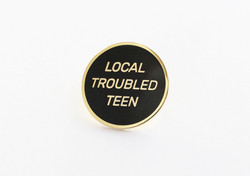 Local Troubled Teen lapel pin, 2015