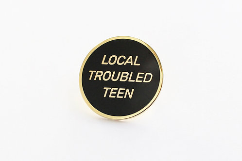 Local Troubled Teen lapel pin