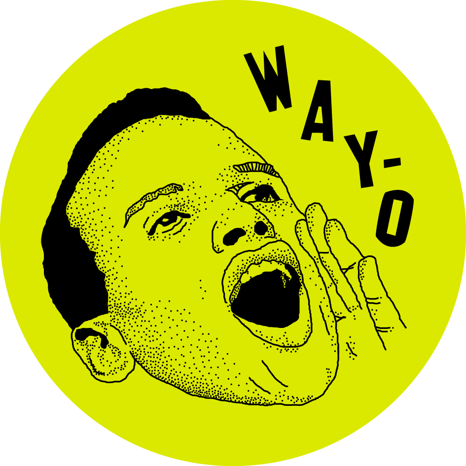 WAYO Harry Belafonte pin, 2015