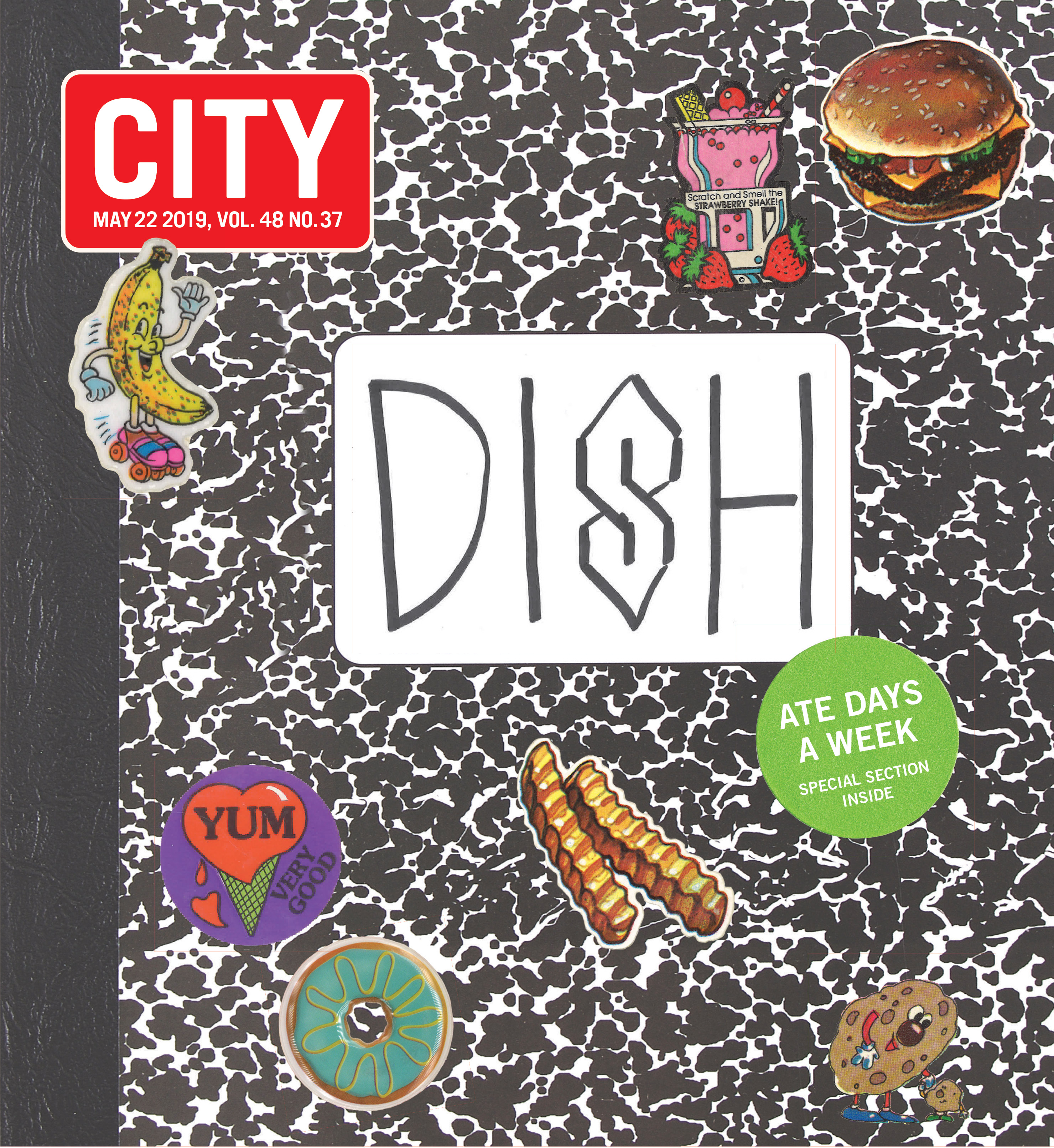 DISH cover, 2019