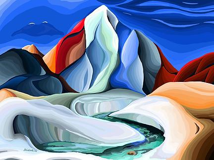 Не равнина | Василий Сидорин | VASILY SIDORIN | картина маслом | sidorin.info | Artmagic