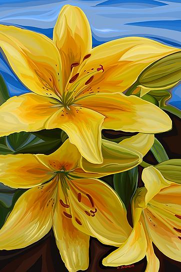 это вам не цветочки   not flowers   still life   натюрморт    Василий Сидорин   VASILY SIDORIN   sidorin.info   Artmagic