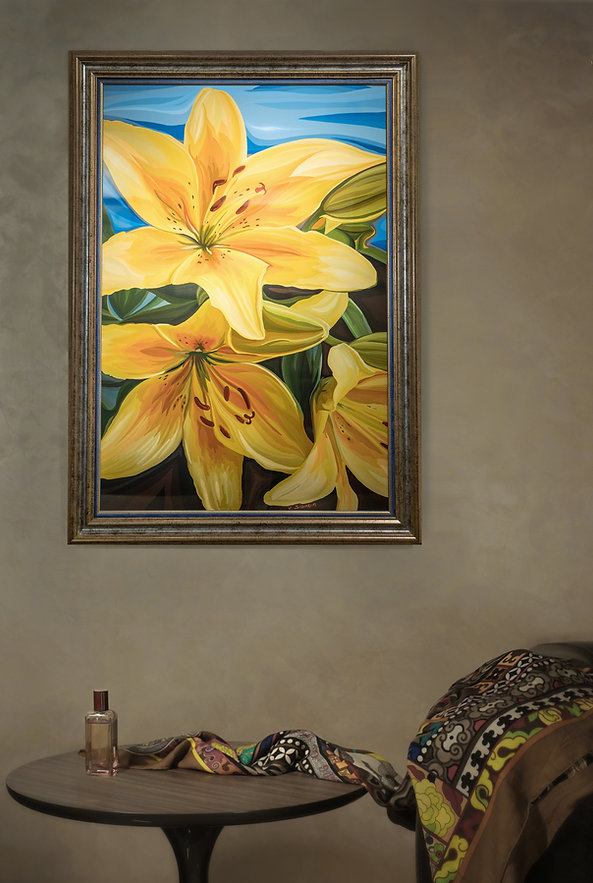 Это вам не цветочки | Василий Сидорин | VASILY SIDORIN | sidorin.info | Artmagic в интерьере