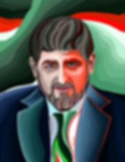 КАДЫРОВ ПОРТРЕТ  | Василий Сидорин | VASILY SIDORIN | sidorin.info | Artmagic