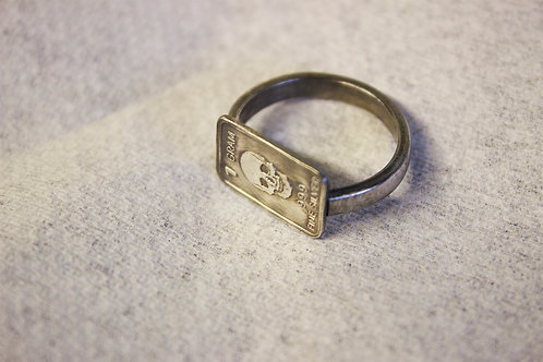 Fine Silver Bullion Ring