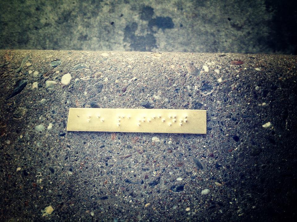 Braille Graffiti 3of20