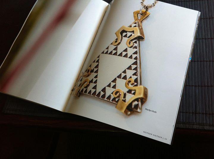 Sierpinski pedent in a magazine