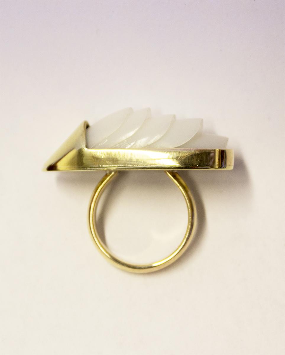 fake nail ring