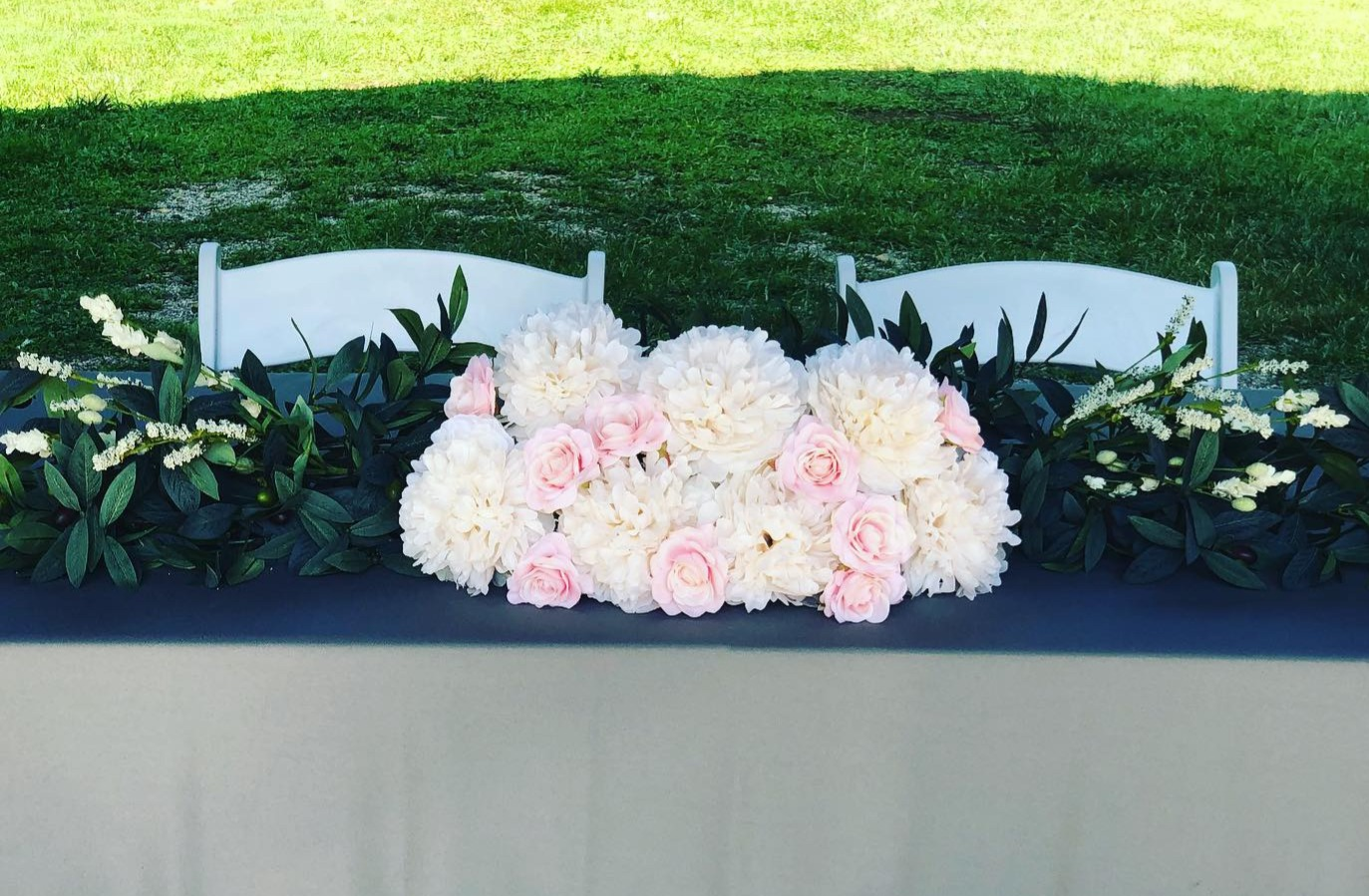 Bridal Table Arrangement