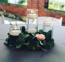 3-Tier Floating Candle Wreath