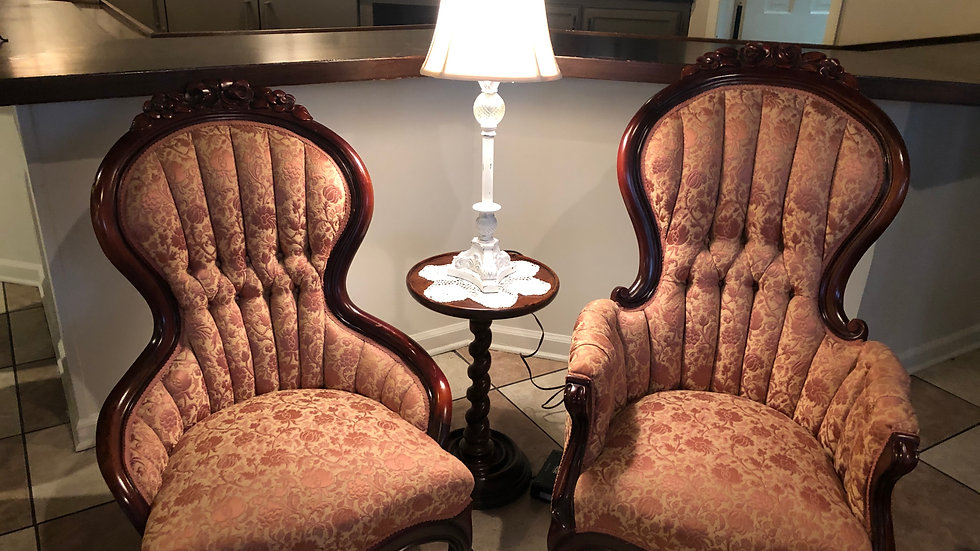 Johnny and June Chairs