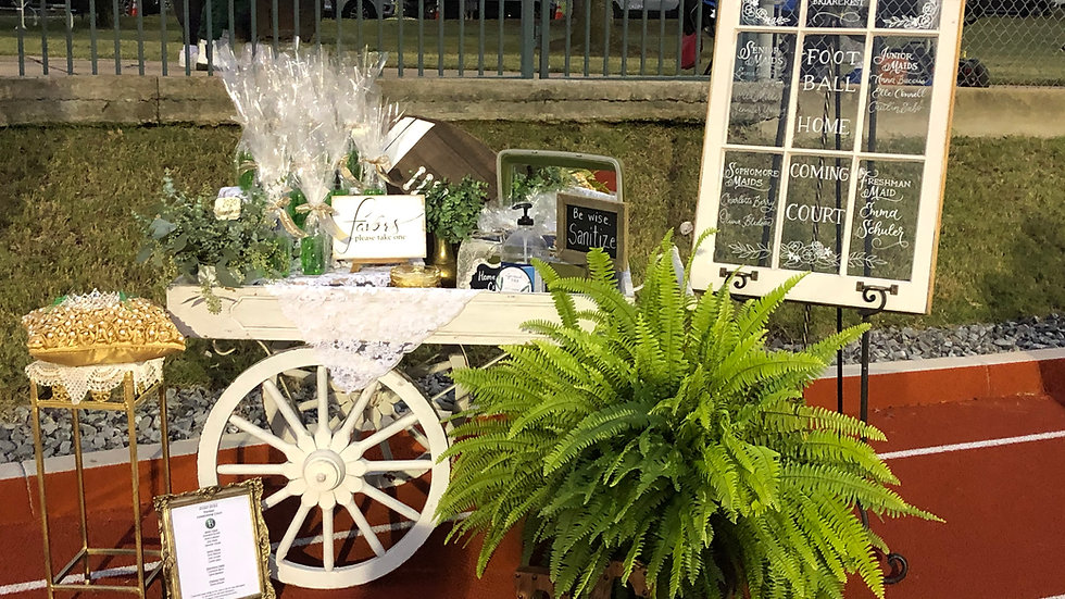 Flower or Bar Cart