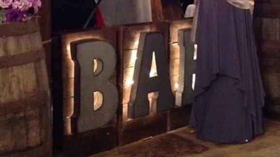 BAR Sign
