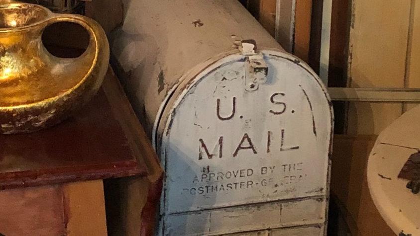 Oversized Mailbox