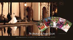 Bridal photography postcard
