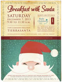 Rady Christmas flyer