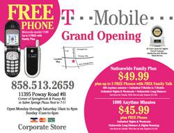 T-Mobile postcard