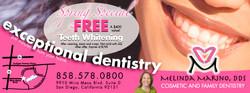 Dentist mailer insert