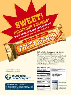 Student loan promo flyer
