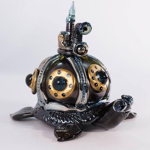 Steampunk Turtle Submarine