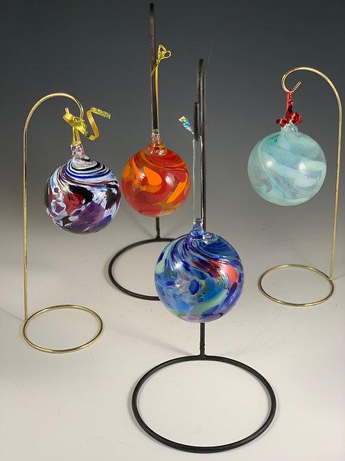 Globe Glass Ornaments