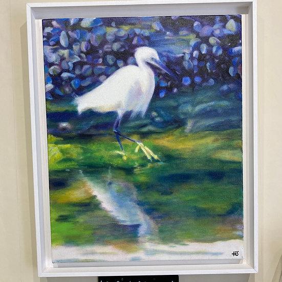 The Egret of Swanpool