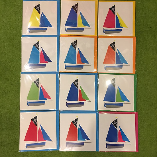 Falmouth Working Boat Cards