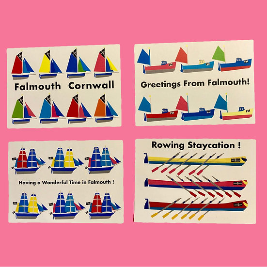 Falmouth Postcards