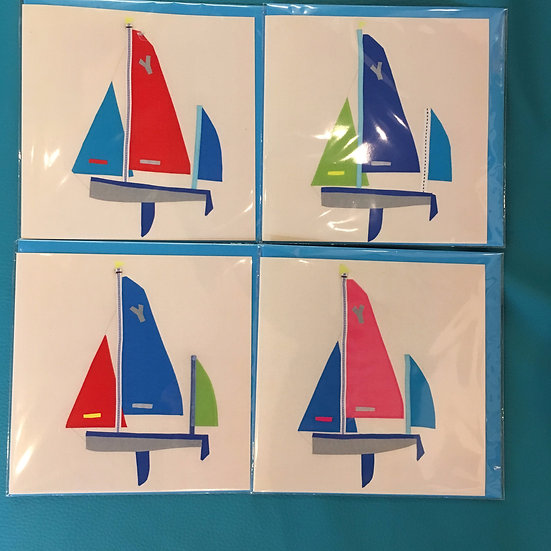 Salcombe Yawl cards