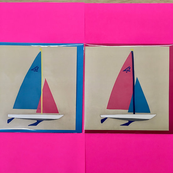 Flying Fifteen Boat Cards