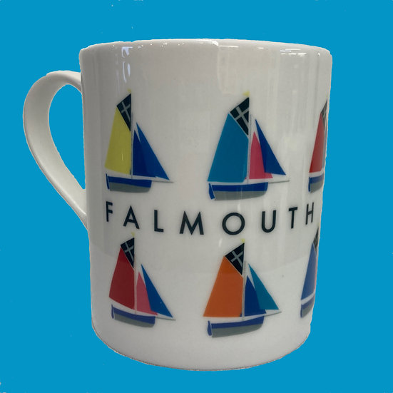 Falmouth Working  Boat Mug