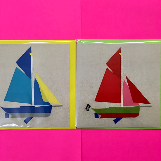 Cornish Crabber Boat Cards