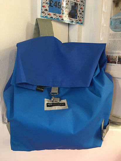 Real Speed Blue back pack