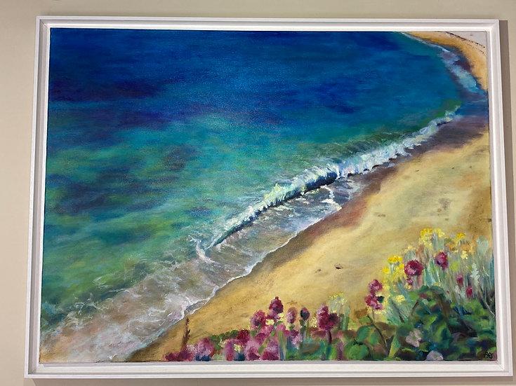 Gyllyngvase Beach By Fiona Florence Speed (FFS)