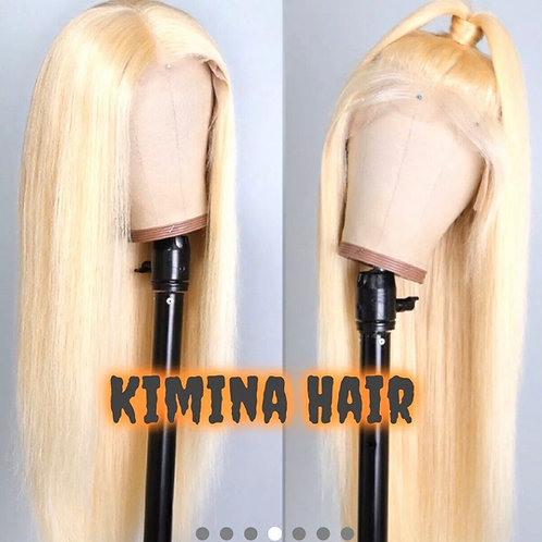 """Brazilian Peruvian Lacefront Wig  18"""" inches long , 150% Dens Saleity"""