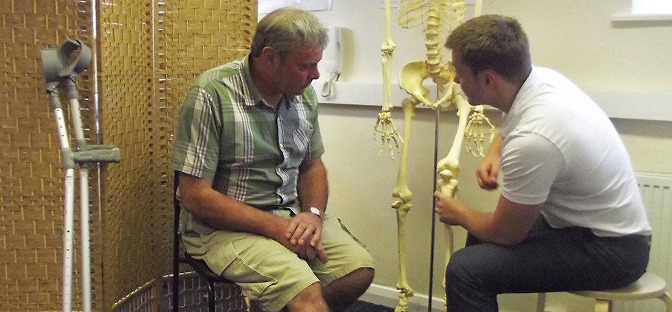 Health in Motion Physiotherapy Sheffield Post-Op rehab
