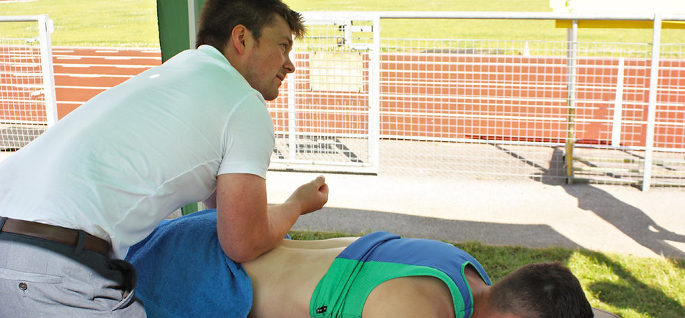 Health in Motion Physiotherapy Sheffield Sports massage athletics