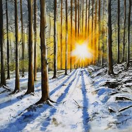Ben Goymour - Forest - Landscape Oil Painting