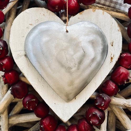 Upcycled Aluminium Heart