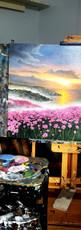 Ben Goymour - Landscape oil painting - seascape - beach scape
