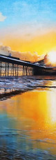 Ben Goymour Eastbourne Pier commission oil painting