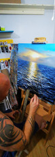 Ben Goymour - Seascape Oil Painting